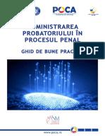 Ghid Administrare Probatoriu Web Online