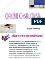 CORRIENTE CONSTRUCTIVISTA