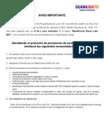 Resultados Becas León 2021 Preparatoria