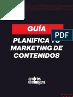 PLANIFICA TU MARKETING DE CONTENIDOS 2021