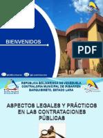 Presentación Contrataciones Públicas Al 13-06-2019