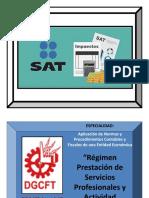 6.-Régimen Prestación Serv Prof