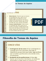 DIAPOSITIVAS DE TOMAS DE AQUINO