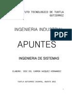 Apuntes Ingenieria de Sistemas