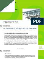 Sesión 01 -Diseño en Acero