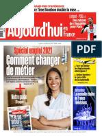 Aujourd Hui en France - 1er F 233 Vrier 2021