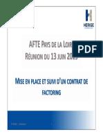 2019_06_13 PDL Mise en place contrat factoring