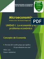 Microeconomía Unidad I
