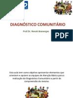 Slides - Diagnóstico Comunitário