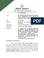 SOLICITUD CORRECION DE ERROR MATERIAL - LICDA. CLARA ARIAS ADAMES - JOSE VICENTE MODESTO OTAÑE_1