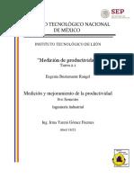 Tarea2.1 Medición y Mejoramiento de la Productividad
