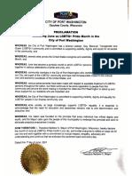 Port Washington Pride Month Proclamation 2021 (1)