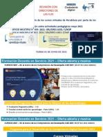 Reunión 1 de Junio Cursos Perueduca 2021 Formación Docente