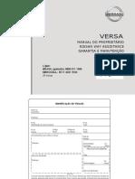 Manual do Proprietario, Nissan Way Assistance e Manual de Garantia e Manutencao (1)