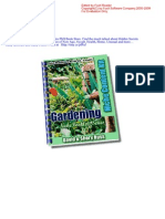 FREE Gardening E-BOOK