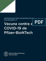 Information Recipients Pfizer Biontech Covid 19 Vaccine
