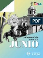 Agenda turística Lima Junio 2021
