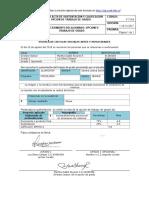 FORMATO ACTA DE SUSTENTACION Y CALIFICACION OPCION DE TRABJO DE GRADO  SANDRA LILIANA SANCHEZ