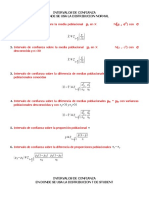Formulas Intervalos