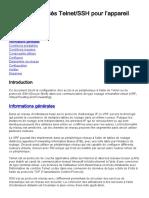 200718 Configure Telnet SSH Access to Device Wi