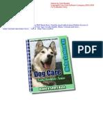 FREE Dog Care e-Book