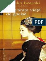 415701421 Iwasaki Mineko Adevărata Viață de Gheișă PDF