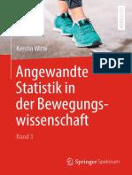 Angewandte Statistik in Der Bewegungswissenschaft, Band 3