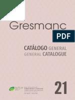 Catálogo Gresmanc 2021