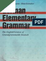 German Elementary Grammar