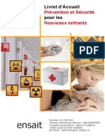 Livret Prevention Et Securite 2017