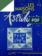 Astrologia - Les Maisons en Astrologie por Marie - Thérèse Des Longchamps (252)