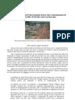 Tribunal Regional Federal mantém decisão sobre o funcionamento a favor do Aeroclube da Paraíba e contra a Prefeitura de João Pessoa