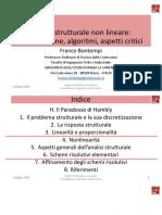 Analisi strutturale non lineare