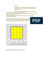 8.- Cuadrado mágico de 4x4
