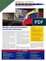 Venezuela Informează  Buletin Săptămânal 14.05.2021 - versiune limba spaniola