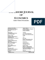 The Lahore Journal of Economics Contents Vol. 6, 2001