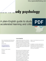 HowToStudyPsychologyPreviewFirstChapterOnly