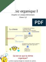 Chimie organique  Chapitre 12