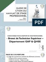 Guide de Rédaction Du Rapport de Stage ITO-1
