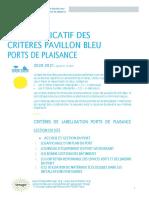 Guide explicatif des criteres Ports 2021