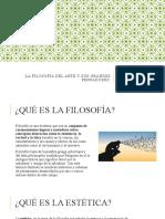 LA FILOSOFÍA DEL ARTE Y SUS GRANDES PENSADORES