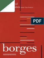 Livro - Borges Oral & Sete Noites - Jorge Luis Borges