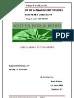 Aditya Birla Nuvo ltd.