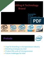 Strategic Brand Management INTEL Building a Technology Brand