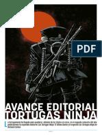 Avance Editorial ECC Tortugas Ninja