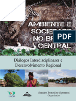Ambiente e Sociedade no Brasil Central - e-book - FINAL