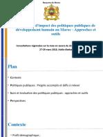 Maroc-Evaluation Dimpact Des Politiques Publiques de Développement Humainv4 (2)