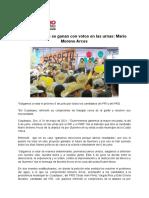 31-05-2021 Las Elecciones Se Ganan Con Votos en Las Urnas
