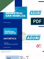 Ciclo 2021 Semestral San Marcos Aritmetica