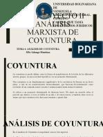 Analisis Marxista de Coyuntura